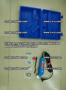 EVA Thermal Cutter to trim off Laminated Glass edges with a SGP Interlayer (53)