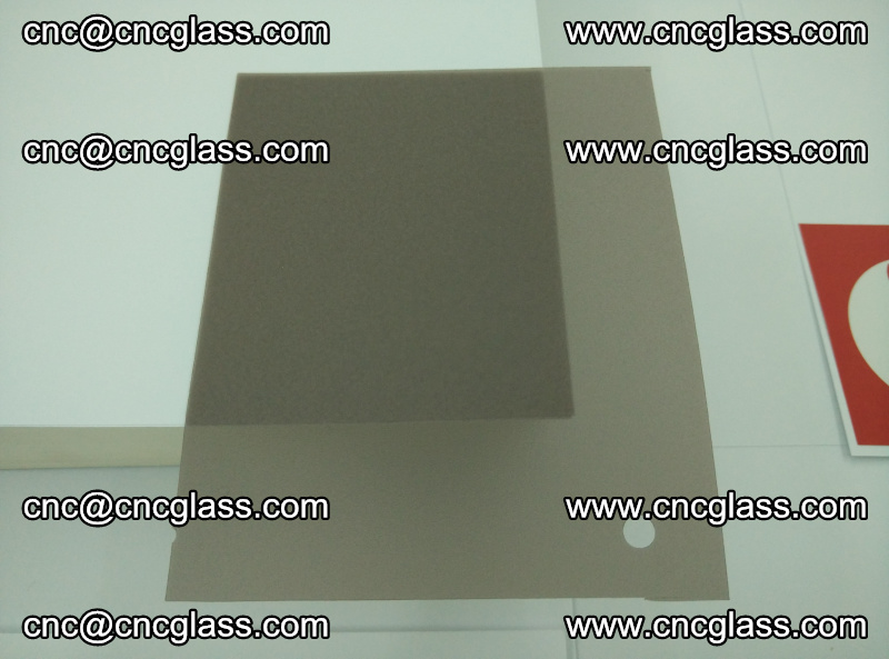 EVA glass interlayer film foil, transparent tea color (10)