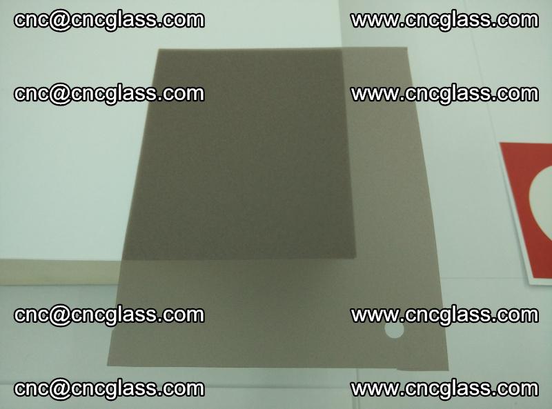 EVA glass interlayer film foil, transparent tea color (12)