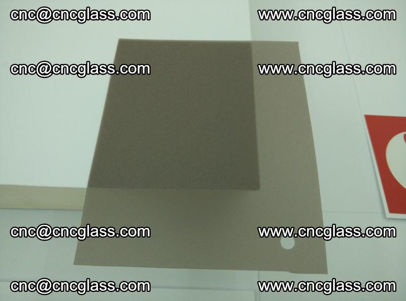EVA glass interlayer film foil, transparent tea color (13)