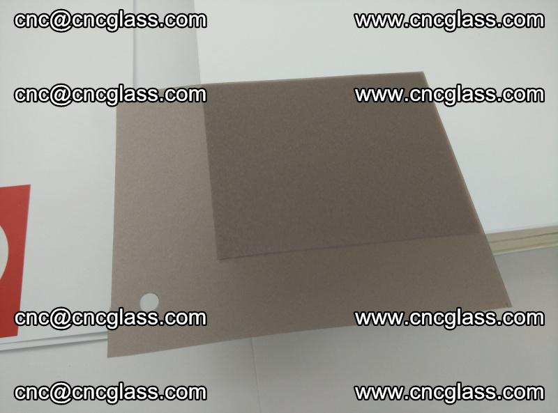 EVA glass interlayer film foil, transparent tea color (16)