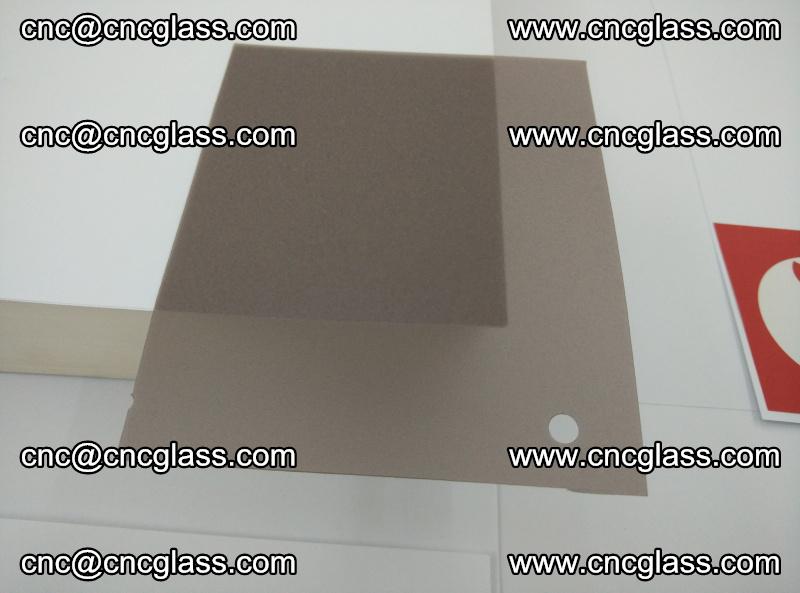 EVA glass interlayer film foil, transparent tea color (2)