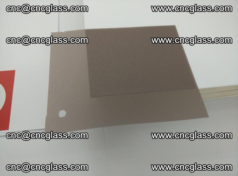 EVA glass interlayer film foil, transparent tea color (20)