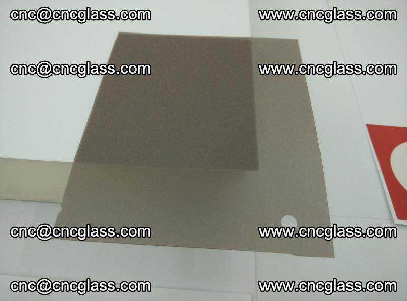 EVA glass interlayer film foil, transparent tea color (3)