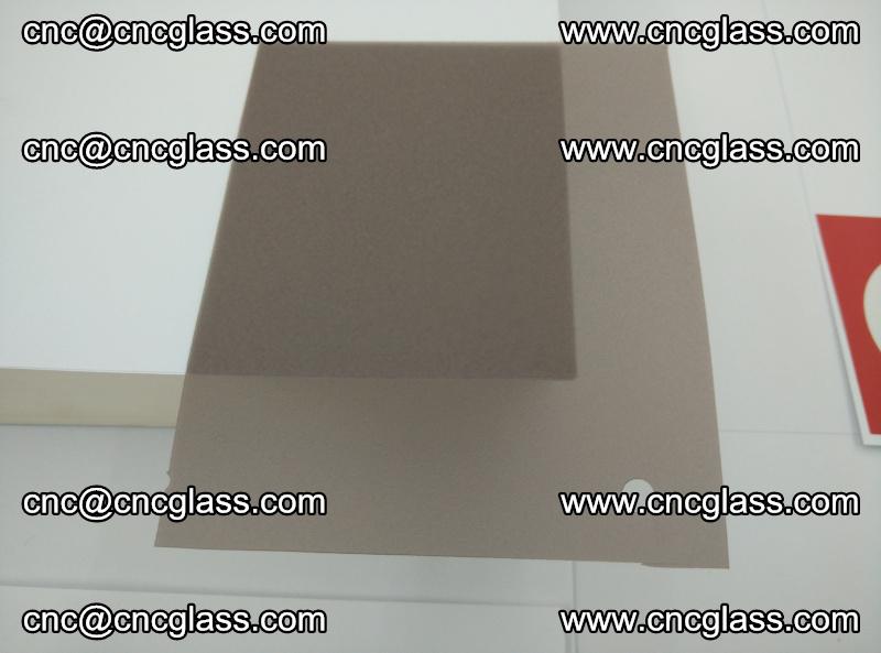 EVA glass interlayer film foil, transparent tea color (4)