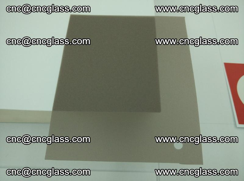 EVA glass interlayer film foil, transparent tea color (8)