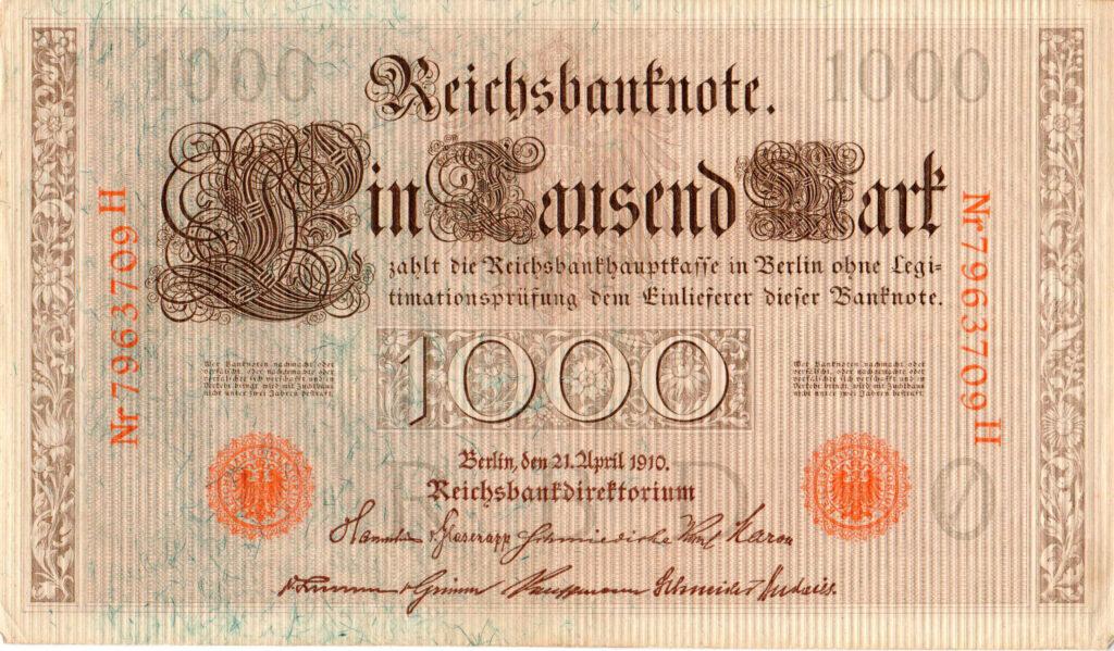 1910 Reichsmark