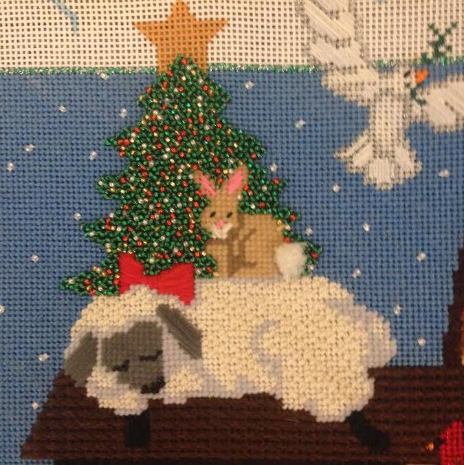 Never-ending stocking Lamb