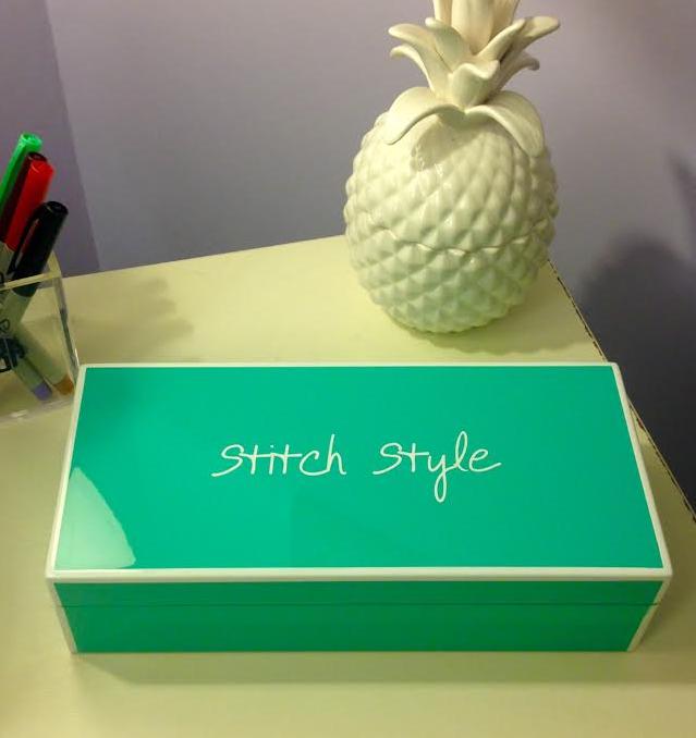 A very stitch style birthday box