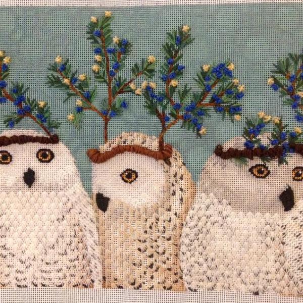 Festive Owls Finished