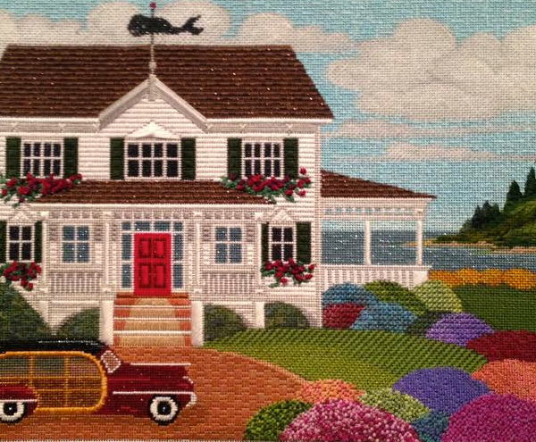 To The Shore- Peter Ashe stitched by Virginia Barney