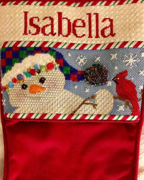 Needlepoint Christmas Gift