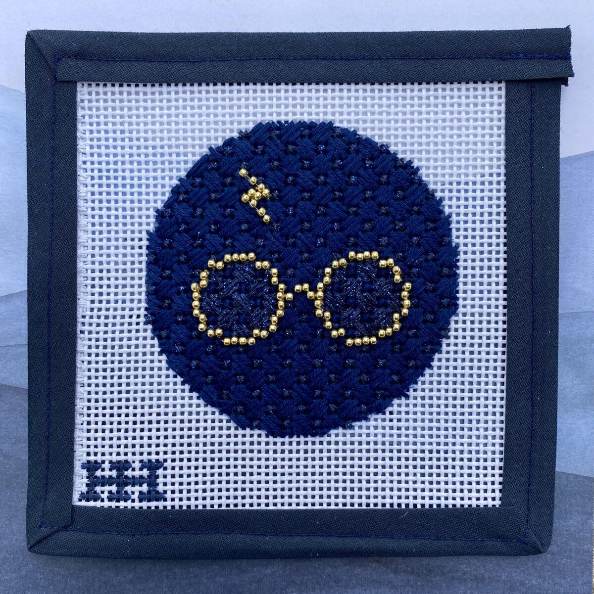 Stitch Style Wizard Ornament