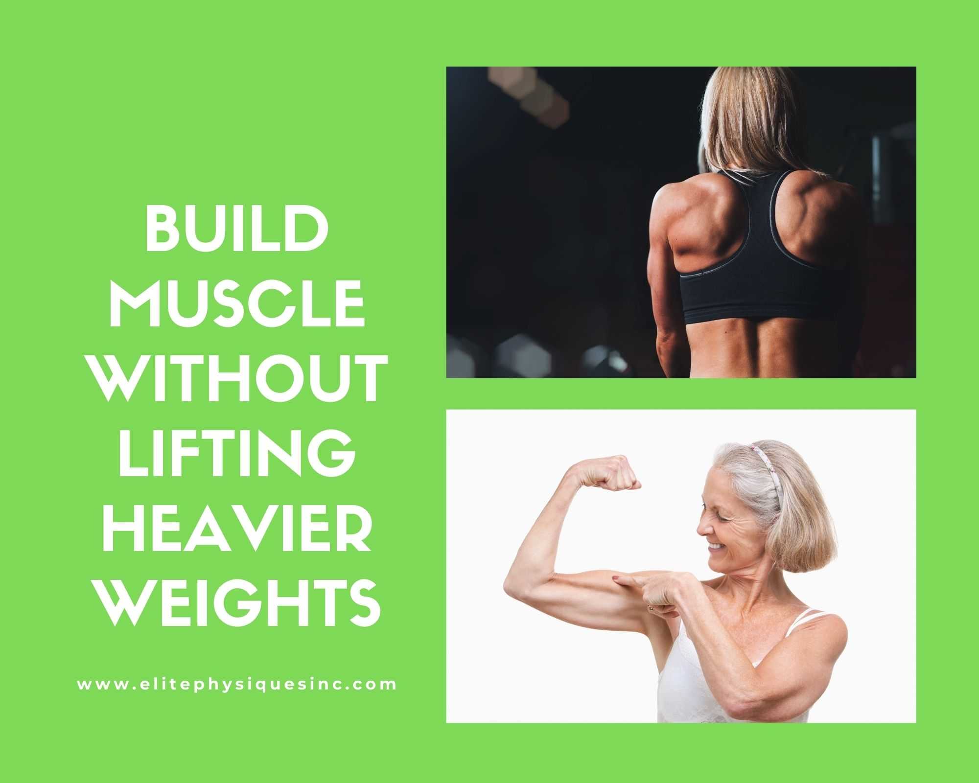 Build muscle