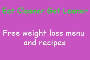 Get lean Eat cleaner