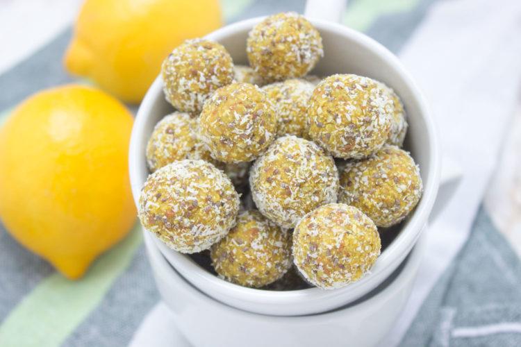 lemon turmeric balls