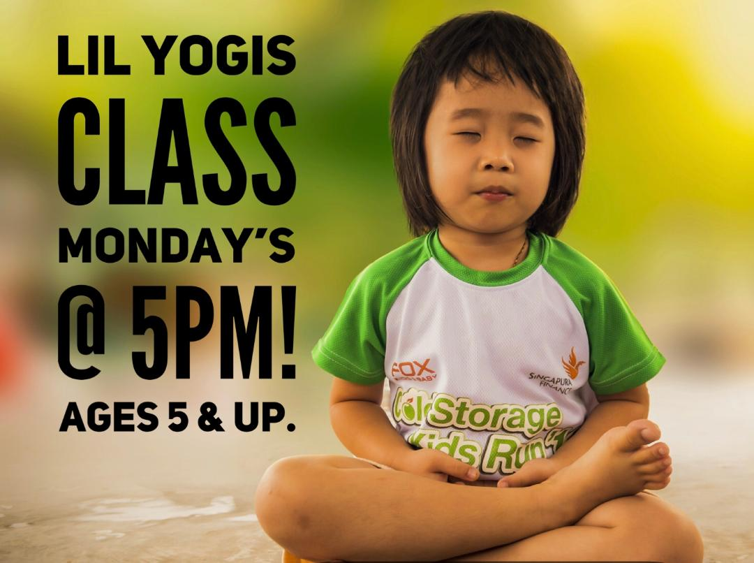 yoga class for kids
