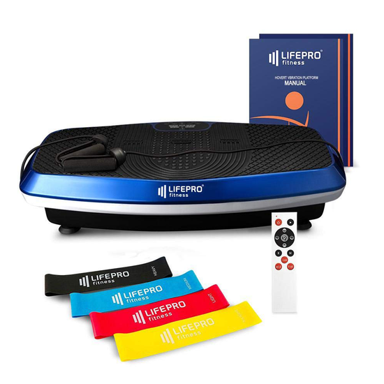 LifePro 3D Turbo Vibration Plate Exercise Machine