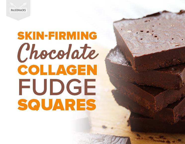 Collagen Fudge Squares