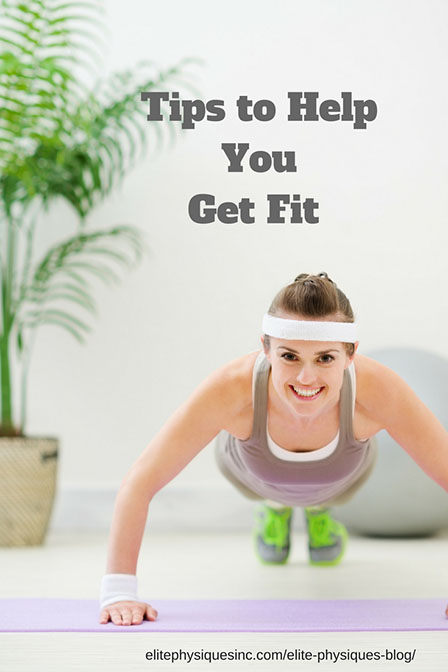 Tips to help you get fit