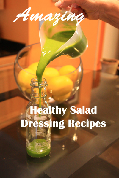Healthy Salad Dressing Recipes