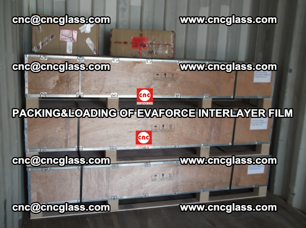 PACKING&LOADING OF EVAFORCE INTERLAYER FILM for safety laminated glass (18)