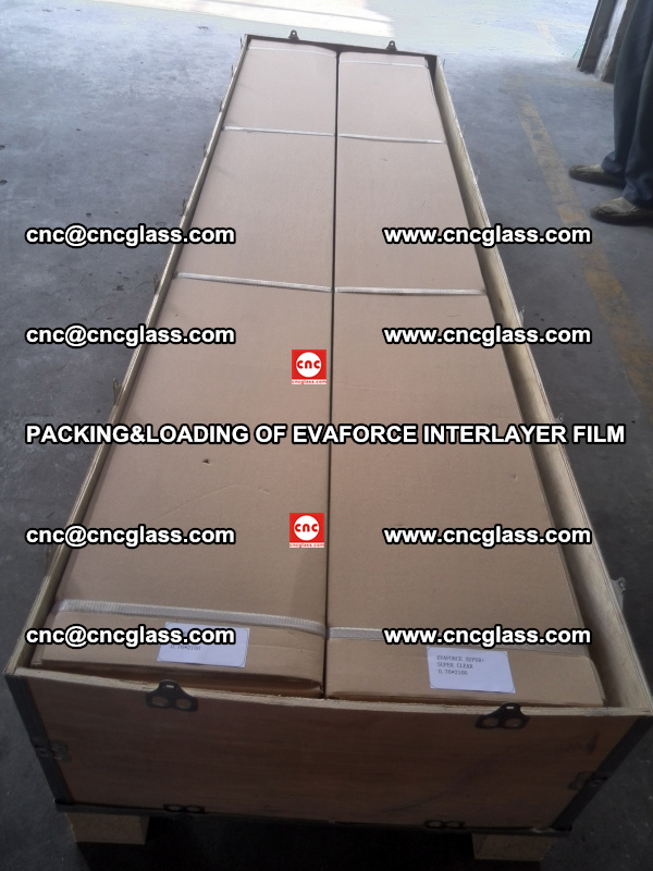 PACKING&LOADING OF EVAFORCE INTERLAYER FILM for safety laminated glass (9)