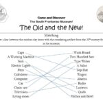 The old and new matching game answer key