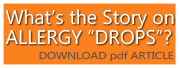 The Story of Allergy Drops