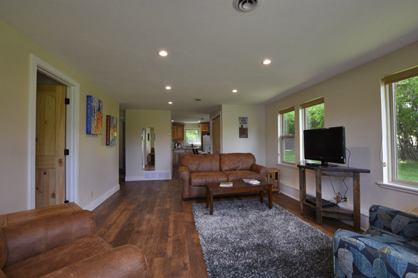Bear Creek Cottage Living Room