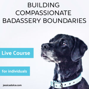 building compassionate boundaries challenge class