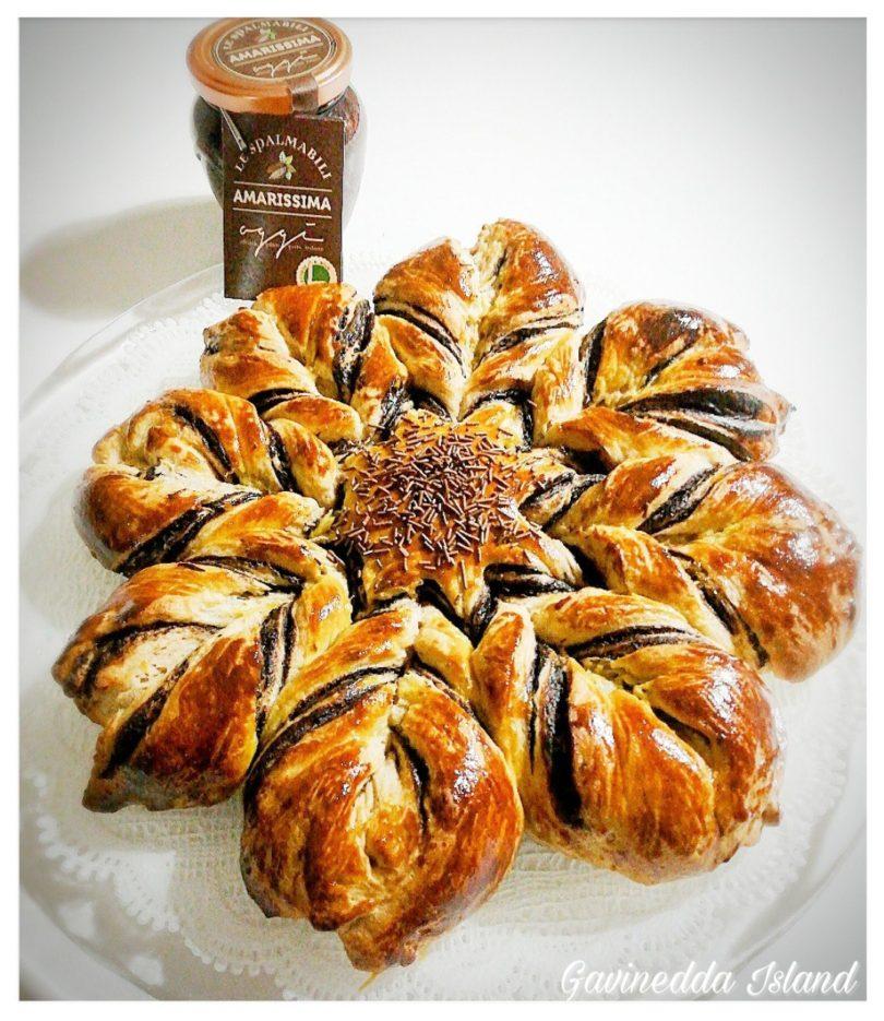 Stella di pan brioche