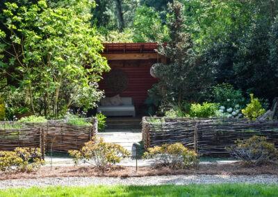 garden tour cozy shed