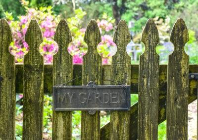garden tour garden gate
