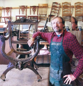 Eric Clingen, fine woodworker