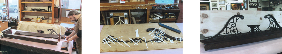 restoration of ornamental woodwork
