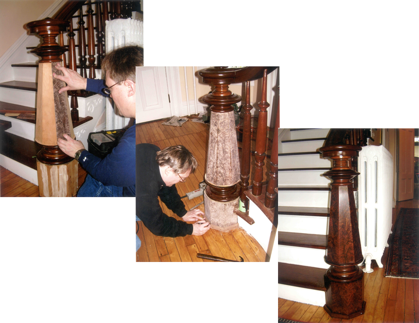 restoring a fine veneer