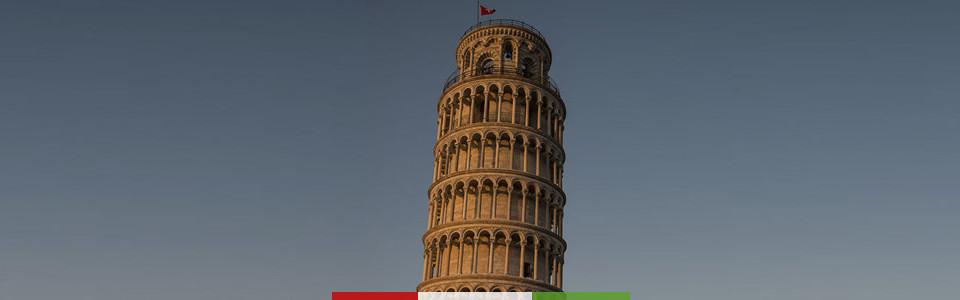 Italy Trips: Pisa, Lucca & Viareggio