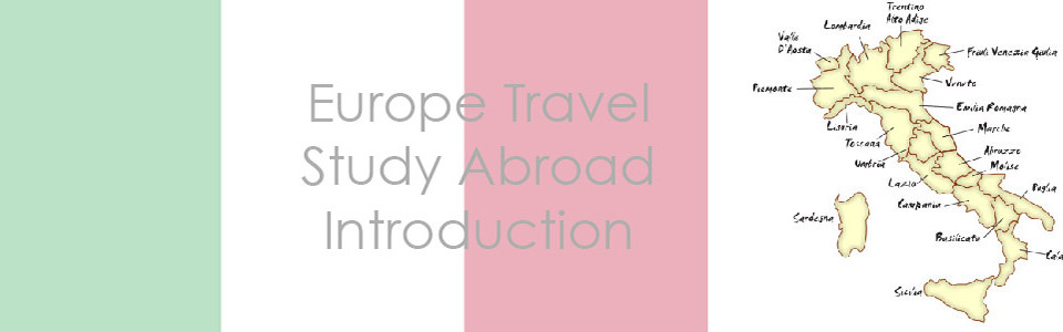 Europe Travel – Study Abroad Blog Introduction