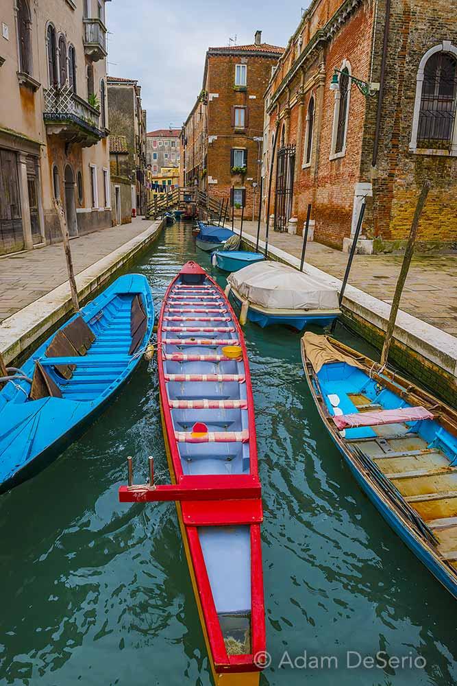 Burano Long Boats