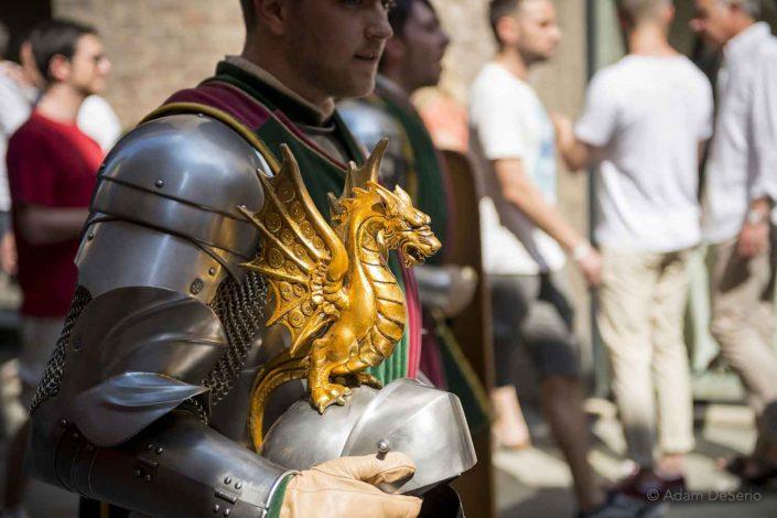 Drago Helmat, Palio, Siena, Italy