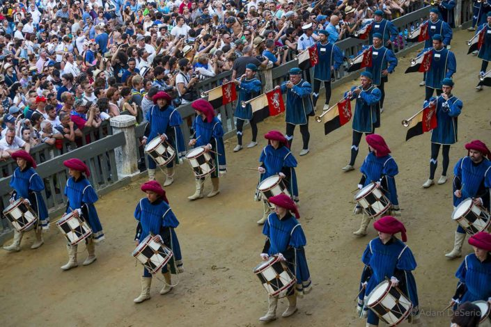 Drummers, Palio, Siena, Italy