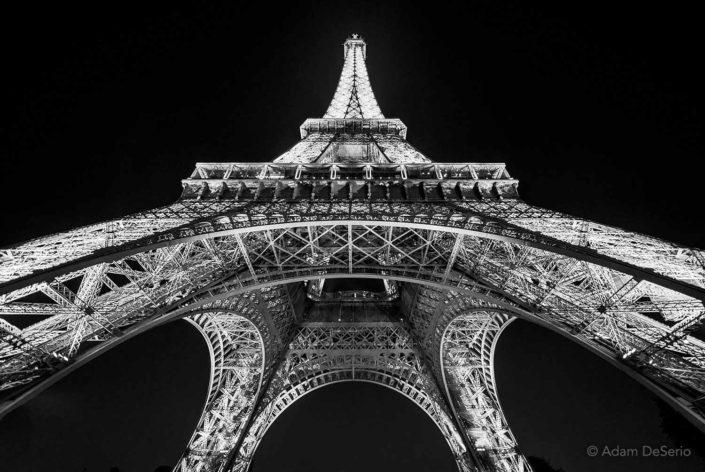 Eiffel Tower Below, Paris