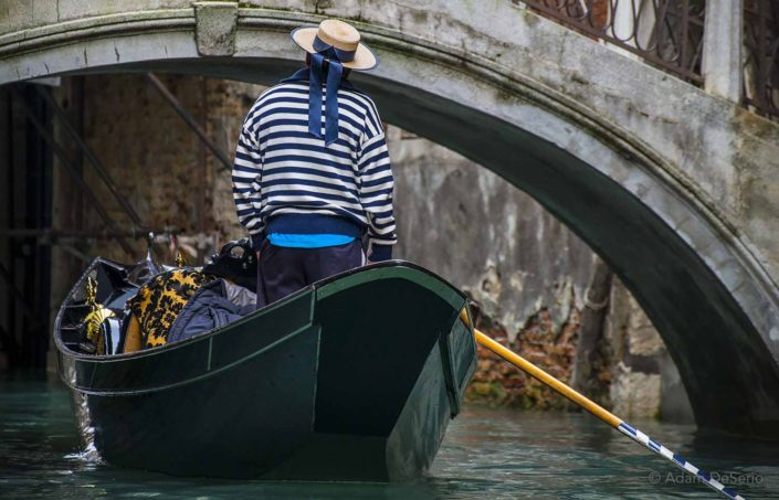 Gondola Blue, Venice