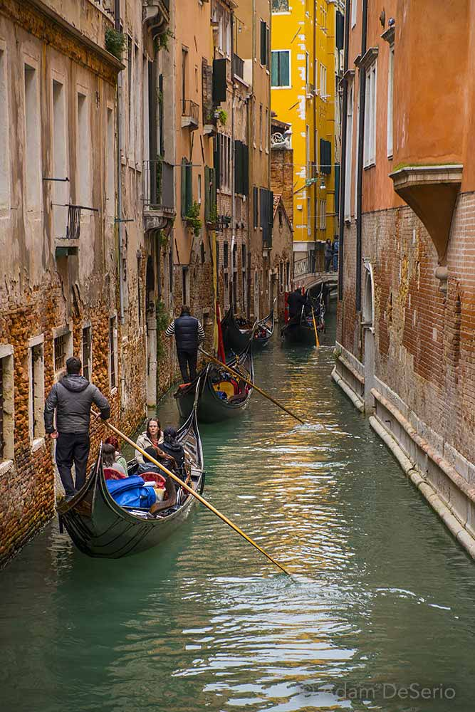 Gondola Canal, Venice