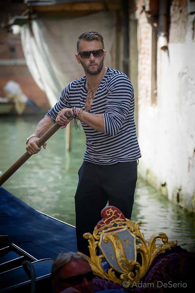 Gondola Driver, Venice