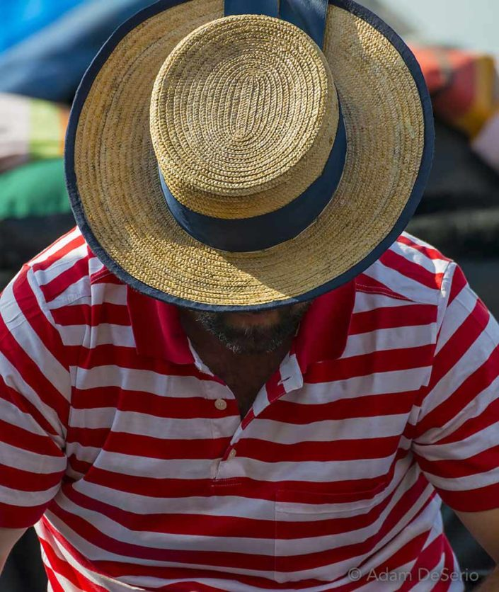 Hat And Stripes, Venice