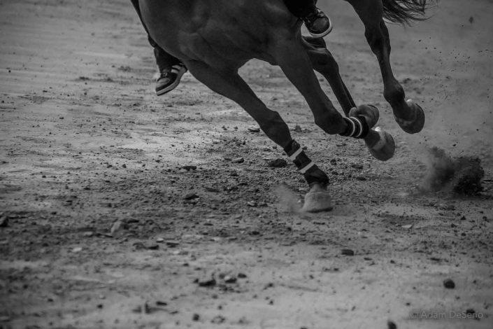 Kicking The Dirt, Palio, Siena, Italy