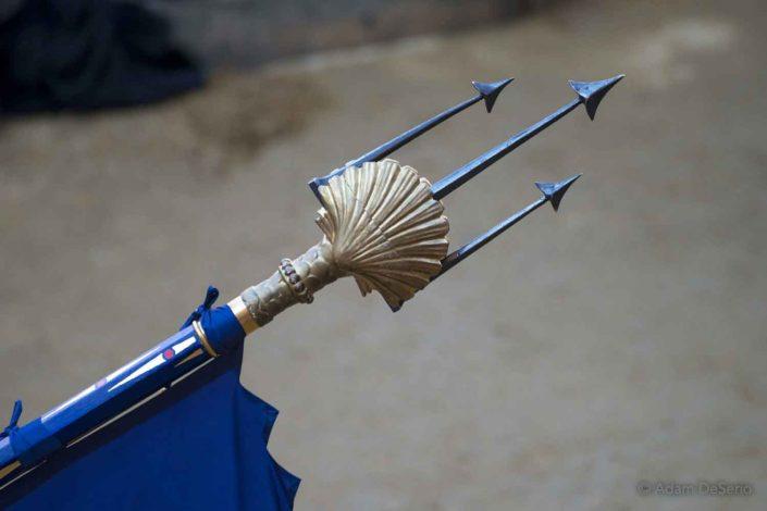 Nicchio Sharp Spear, Palio, Siena, Italy