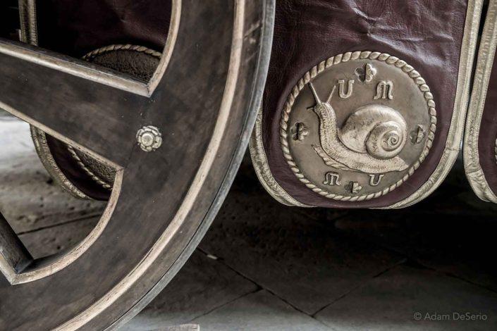 Snail Shield, Palio, Siena, Italy